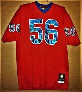 premium selection 8c611 59ecd Details about NEW YORK GIANTS LAWRENCE TAYLOR FOOTBALL CLASSIC RED JERSEY
