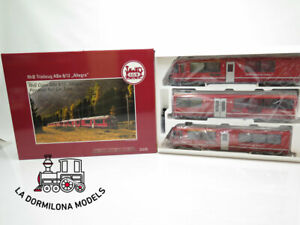 LGB-22225-RhB-Class-ABe-8-12-034-Allegra-034-Powered-Rail-Car-Train-NEW
