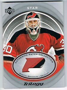 2003-04-UPPER-DECK-TRILOGY-AUTHENTIC-PATCH-COLLECTION-MARTIN-BRODEUR-3-COLOR