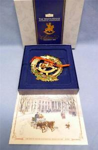 2003-CHRISTMAS-ORNAMENT-THE-WHITE-HOUSE-HISTORICAL-ASSOCIATION-NEW-IN-BOX