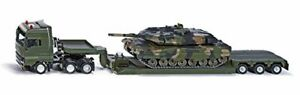1:55 Low Loader With Battle Tank - Véhicule moulé sous pression Siku 8612 4006874086122