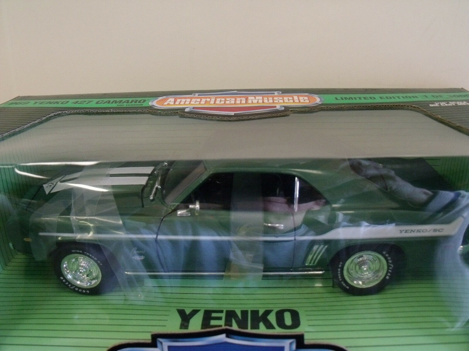 Ertl 1,18 druckguss amerikanische muskeln 1969 yenko 427 camaro limited edition