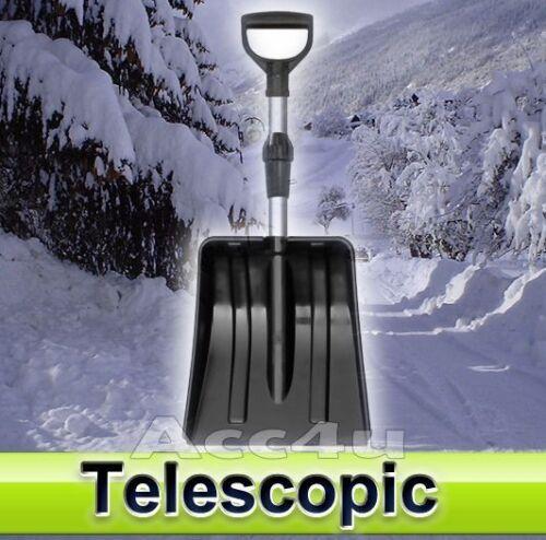 Telescopic Adjustable Handle Length Snow Shovel Spade