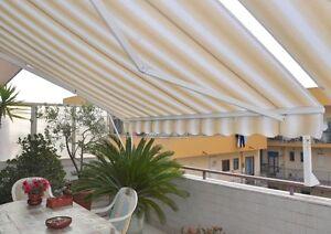 Tende Da Sole A Bracci Estensibili.Tenda Da Sole Capri Con Bracci Estensibili A Catena Ebay