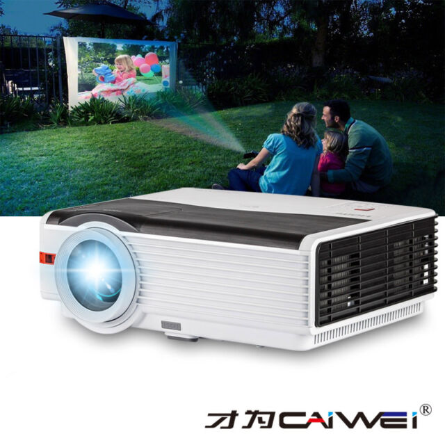 5000lm Multimedia Home Theater Projector Movie Game Party HDMI USB VGA 1080p HD