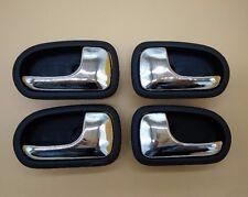 Set 4 Left Right Inside Door Black handle for Mazda PROTEGE 323 95-03