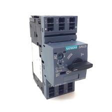 Interruptor de circuito 3RV2011-1GA20 Siemens 4.5-6.3A 3RV20111GA20 * Nuevo *