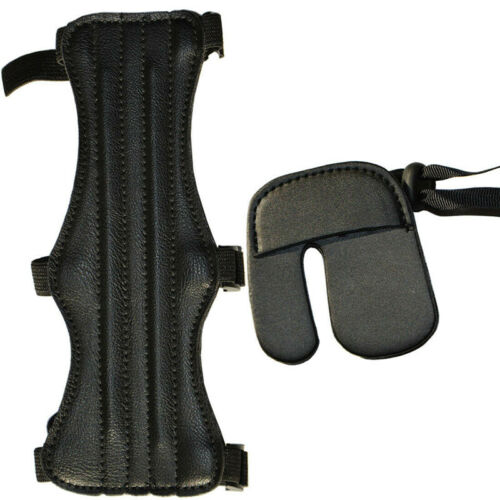 Soft Archery Arm Guard Hand Finger Protector Outdoor Training Practice