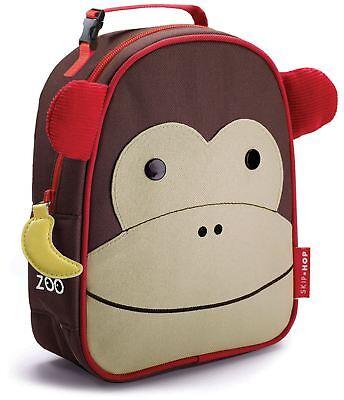 Skip Hop Zoo Lunchie Borsa Da Pranzo Isolata-scimmia Bambini Pranzo Borse Bn- Sconto Online