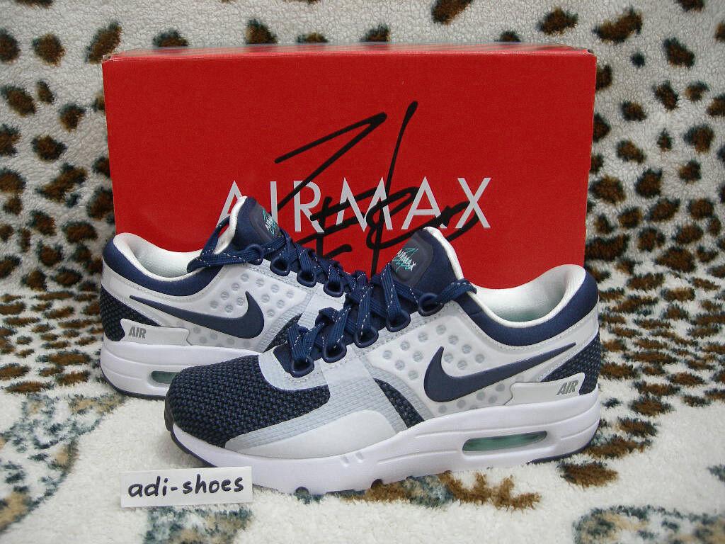 2015 NIKE AIR MAX ZERO QS QS QS MIDNIGHT NAVY/WHITE Gr.36 US 4 patch 789695-104 atmos 43e9de