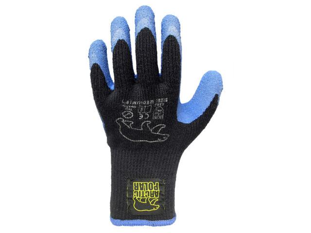 Green Jem Arctic Polar Gloves-Warm Thick Grip Gardening Builders Worker Medium