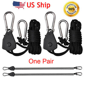 HEAVY DUTY HANGERS PAIR TO 68KG HIGH QUALITY ROPE HANGING FILTER LARGE REFLECTOR