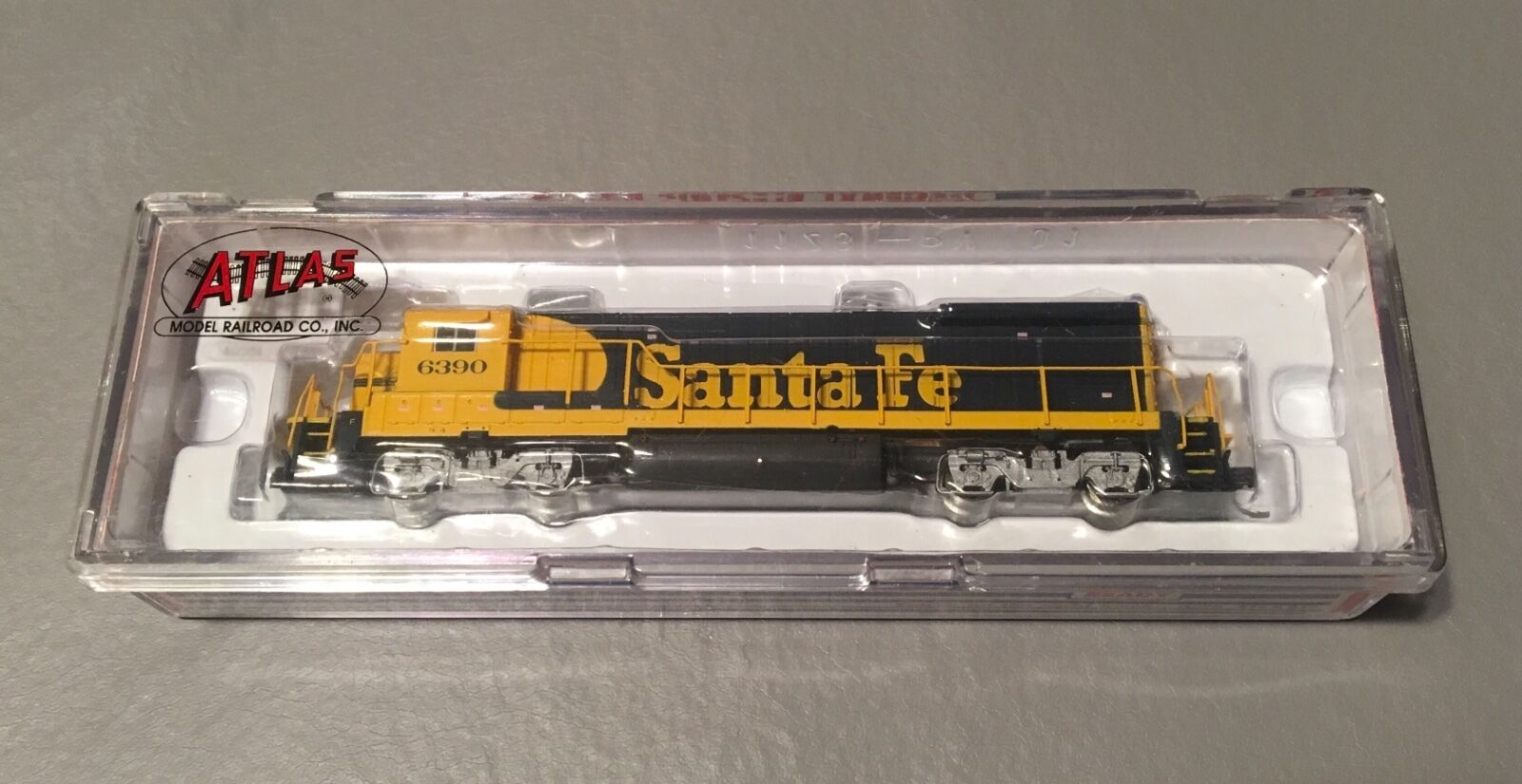 NOS ATLAS 49707 B23-7 Locomotive SANTA FE DECODER READY DIESEL TRAIN N