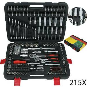Professional-215pcs-Ratchet-Socket-Set-1-2-1-4-3-8-Tool-Toolbox-Spanners-1-2-034-DR
