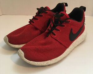 filtrar Portal propietario  Nike Roshe Run GS shoe sneakers red/ Black/ White 4Y 599728 500 Boys Youth  | eBay