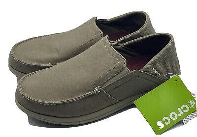 crocs santa cruz convertible men's shoes size 9 triple
