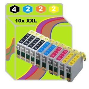 10x-DRUCKER-PATRONE-fuer-Epson-XP-235-245-432-435-445-442-247-335-330-342-345-332
