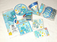 Care Bears 1st Birthday Boy 1- 8 Pcs. Party Set- Party Supplies