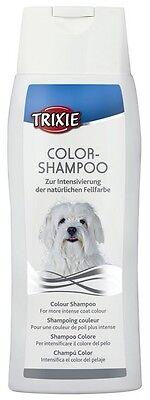 Dog Grooming Hair Shampoo - White & Black Coats - Trixie (250 ml)