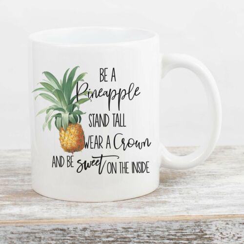 Pineapple Mug Pineapple Decor Inspirational Mug Pineapple Gifts Be A Pineapple