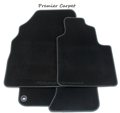 86-92 Tailored Black Carpet Car Floor Mats Set to Perfectly fit Alfa Romeo 75