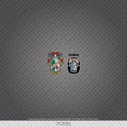 07055 Cinelli Bicycle Head Badge Stickers Decals Transfers