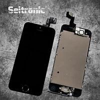 Display für iPhone 5S LCD VORMONTIERT KOMPLETT mit RETINA Touchscreen -SCHWARZ-
