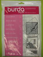 burda Style Seidenpapier Schnittmusterpapier