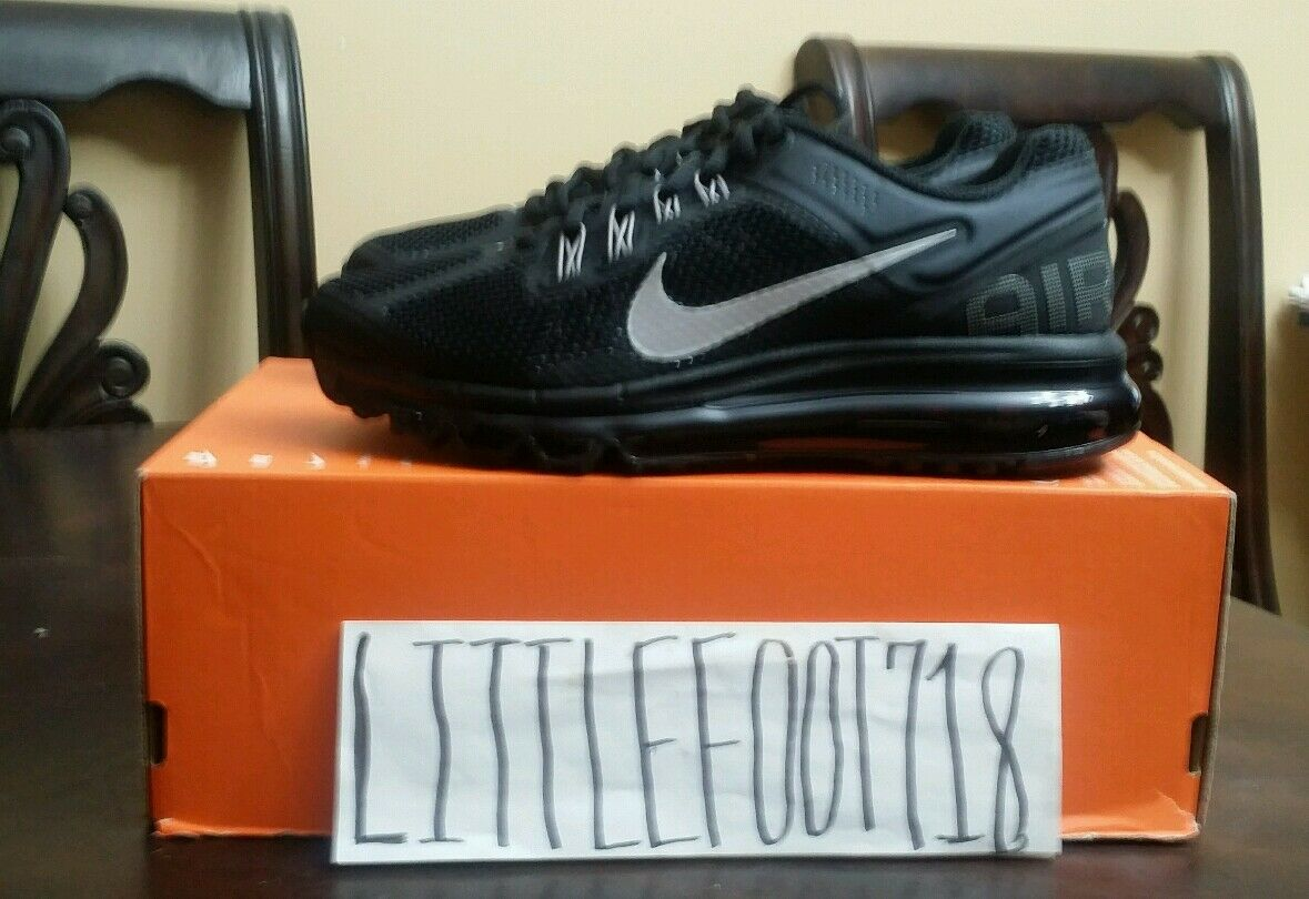Nike Wmns Air Max 2013 Womens 1 Running shoes 360 Sneakers 555363-001 black