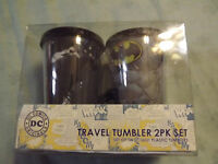 Batman Travel Tumbler 2pk Set In Box