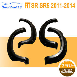 Fender-Flares-For-Toyota-Hilux-MK6-SR5-SR-VIGO-2012-2013-Frosted-Shiny-Black