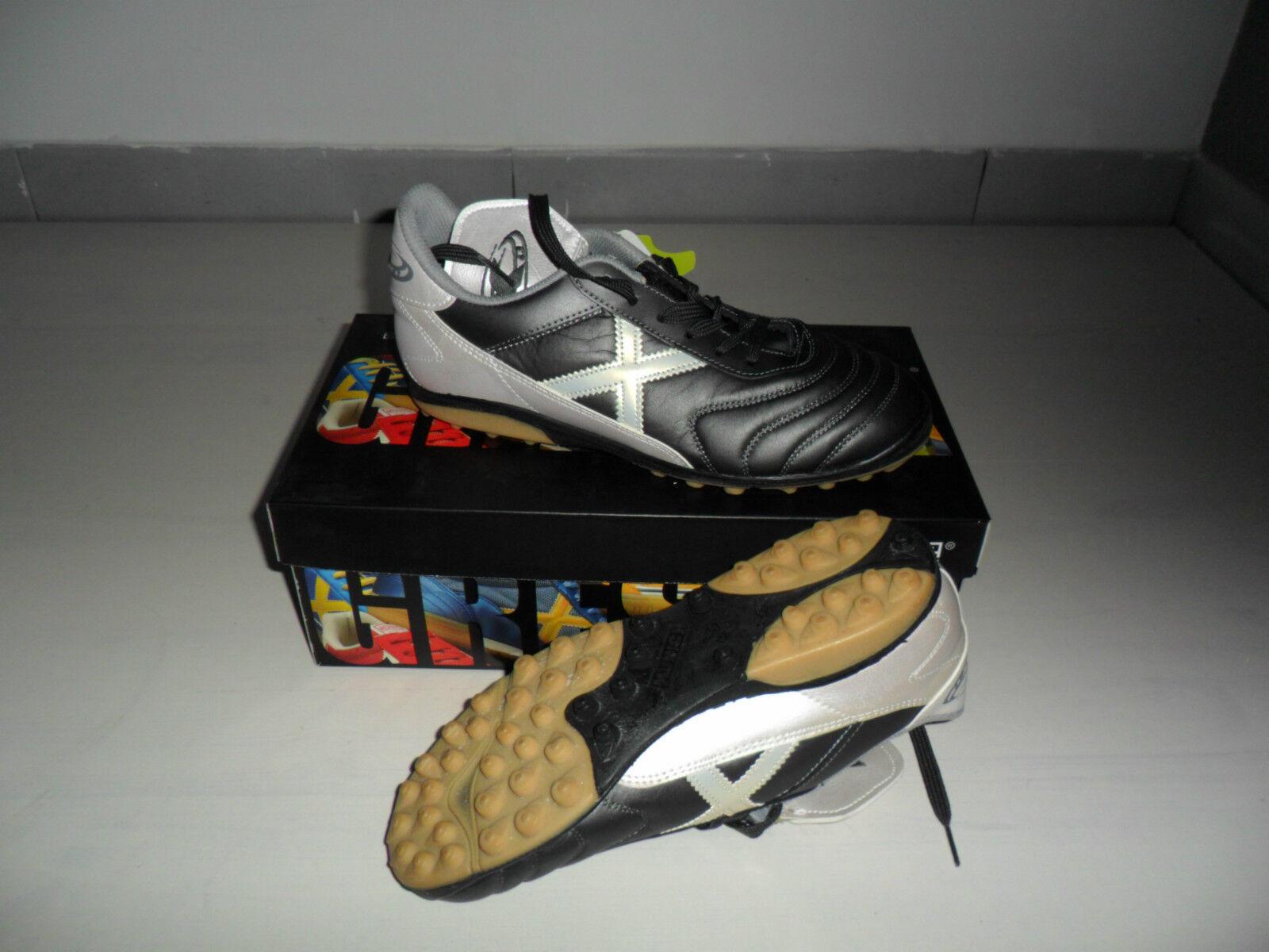 M43 MUNICH 0515 gris MUNDIAL 39 zapatos CALCETTO OUTDOOR TF FUTSAL bota SCARPINI