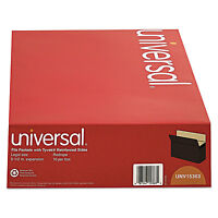 Universal 5 1/4 Inch Expansion File Pockets Straight Legal Redrope/manila 10/box on sale