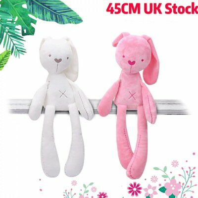 UK Cute Bunny Soft Plush Toy Rabbit Stuffed Animal Baby Kids Gift Animals Doll