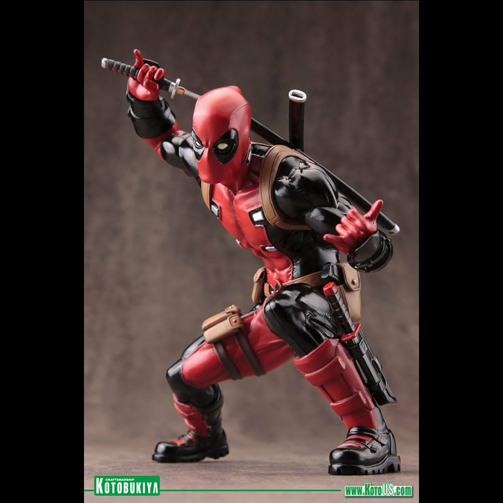 KOTOBUKIYA - MARVEL COMICS DEADPOOL MARVEL NOW  ARTFX+ STATUE - BNIB