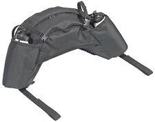 BUSSE Bananen Packtasche mit 2 Flaschen Satteltasche Englisch Pferd schwarz