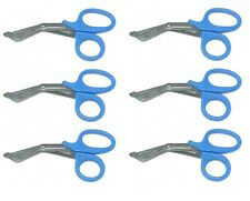 6 Blue Utility Scissors Emtems Shears Bandage Paramedic Nurse Supplies 725