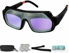 Gafas Para Soldar Mscara Lente Casco Oscurecimiento Soldador Welding Goggles