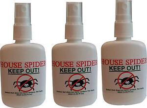 Bien 3 X House-spider Spray-garde Big Araignées Dehors!-afficher Le Titre D'origine