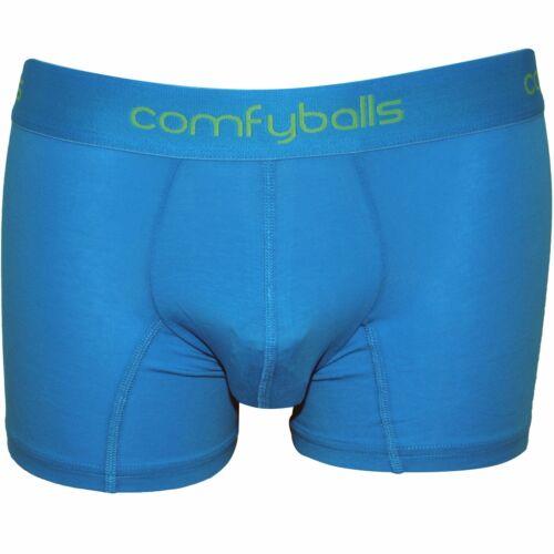 Hawaii Blue Comfyballs Cotton Stretch Men/'s Boxer Trunk
