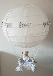 Ballon Lampe Deckenlampe Kinderzimmer Dekoration Junge Mädchen ...