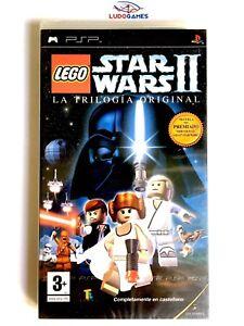 Lego-Star-Wars-II-PLAYSTATION-Psp-Neuf-Scelle-Retro-Scelle-Nouveau-Pal-Spa