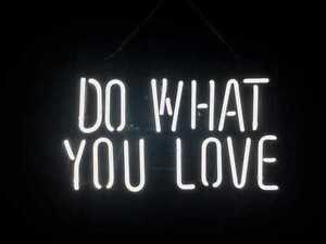 "Neon Wall Signs new do what you love wall decor neon sign 14'x10"" ship from usa 