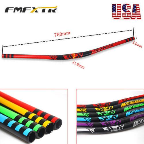 FMFXTR 31.8mm AL Extra Long Handlebar MTB Mountain Bike 780mm Bicycle Riser Bar