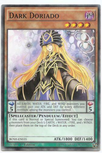 Dark Doriado BOSH-EN035 Common Yu-Gi-Oh Card Mint 1st Edition New