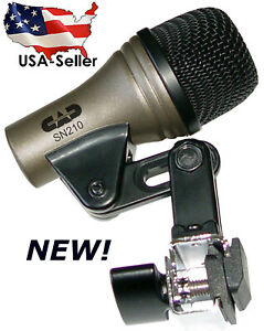 Snare-drum-microphone-clip-NEW-Mic-for-Snares-CAD-PRO-SN210-SN-210