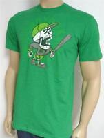 Zoo York Baseball Skeleton Player Tee Mens Green T-shirt