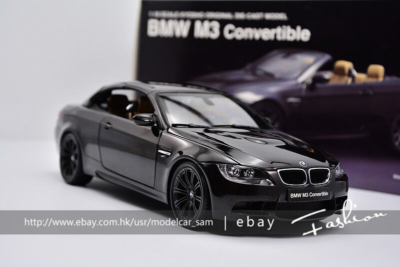 Kyosho 1 18 BMW M3 Negro