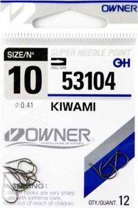 Owner-Haken-KIWAMI-53104-verschiedene-Grosen-Angelhaken-Hacken