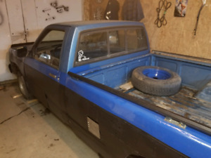 1988 Chevy S10 long box RWD